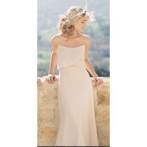 Jenny Yoo Blake Bridesmaid Dress in Chai